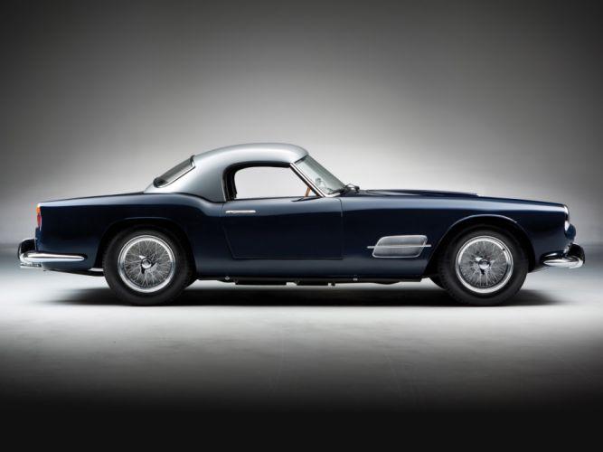 1957 Ferrari 250 GT LWB California Spyder g-t retro supercar supercars j wallpaper