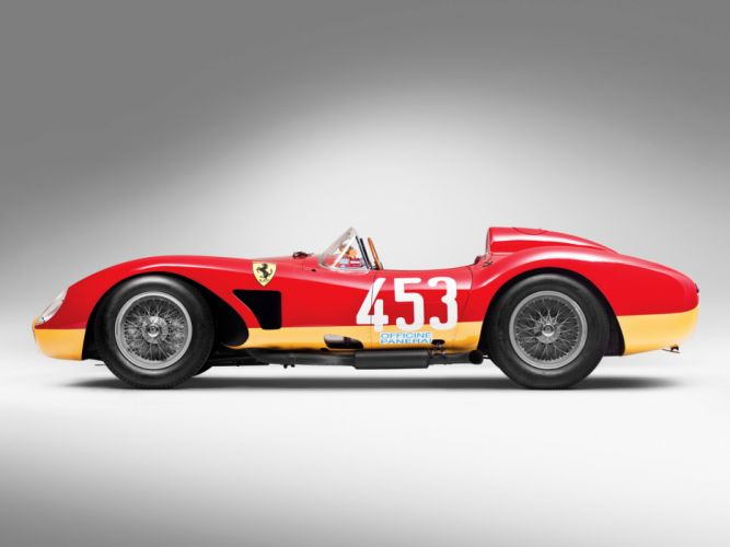 1957 Ferrari 500 TRC Spider retro race racing f wallpaper