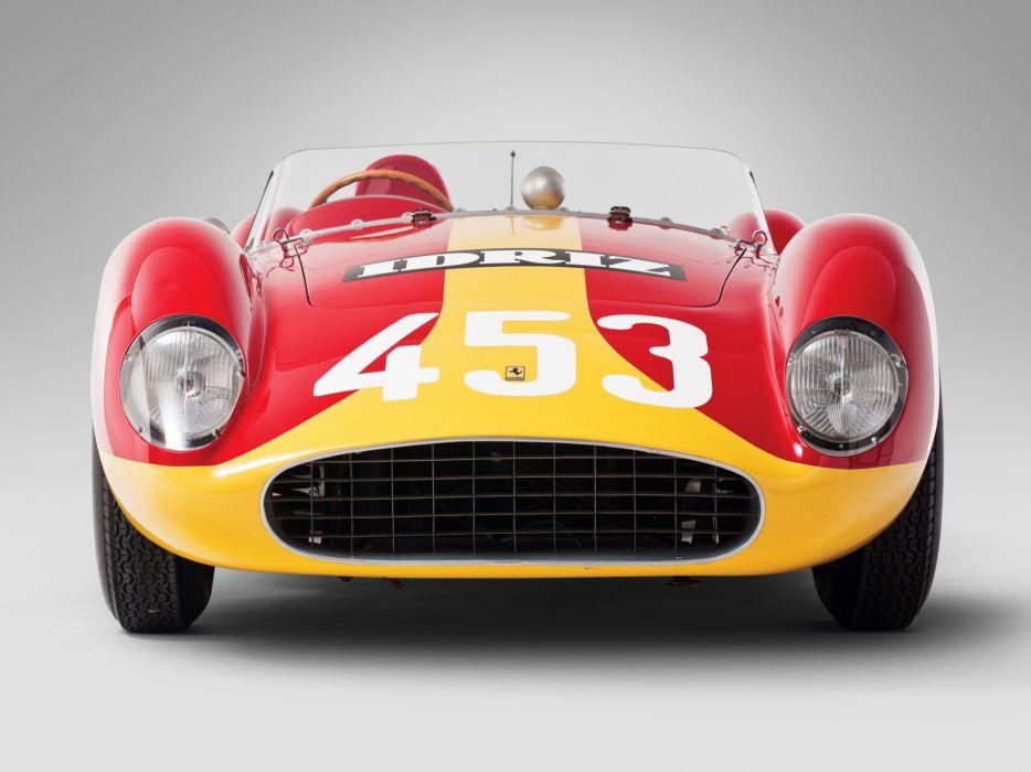 1957 Ferrari 500 TRC Spider retro race racing g wallpaper