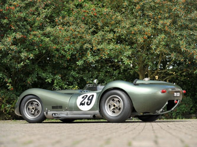 1957 Lister Knobbly Sports Racing race retro f wallpaper