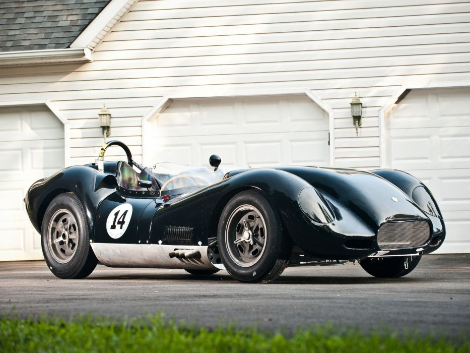 1957 Lister Knobbly Sports Racing race retro     fd wallpaper