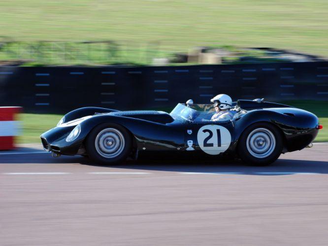 1957 Lister Knobbly Sports Racing race retro e wallpaper