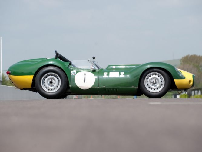 1957 Lister Knobbly Sports Racing race retro d wallpaper