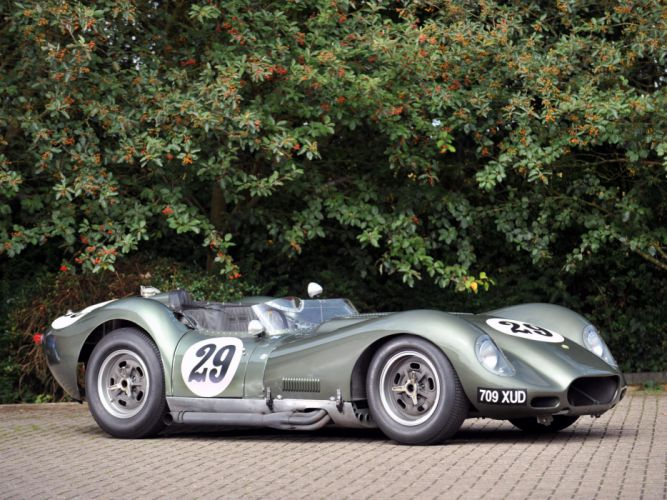 1957 Lister Knobbly Sports Racing race retro g wallpaper