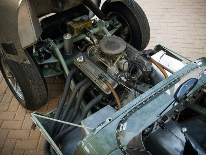 1957 Lister Knobbly Sports Racing race retro engine engines wallpaper