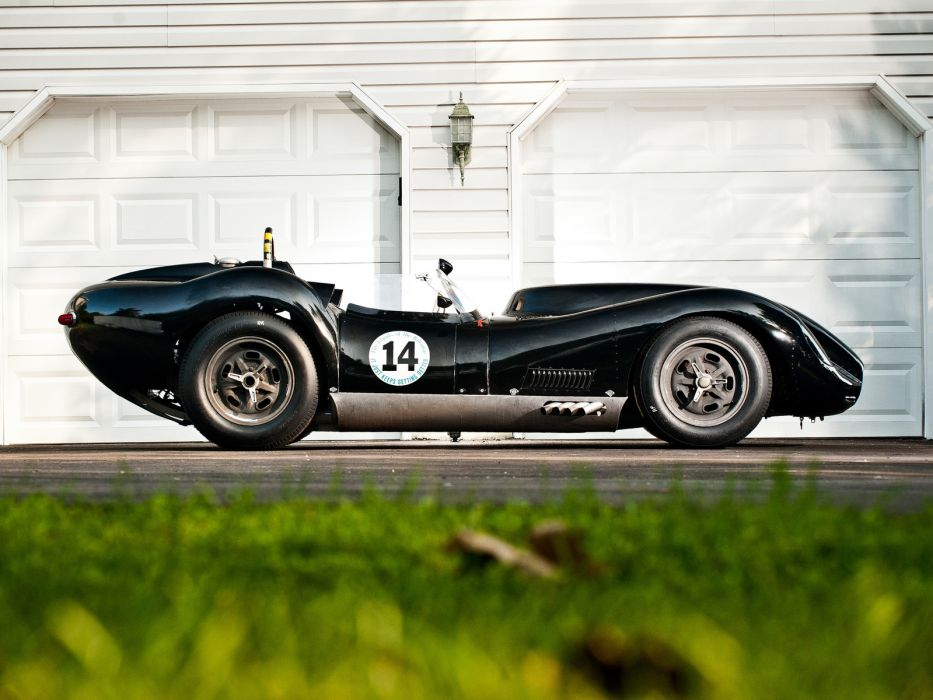 1957 Lister Knobbly Sports Racing race retro gd wallpaper
