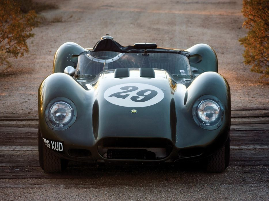 1957 Lister Knobbly Sports Racing race retro q wallpaper