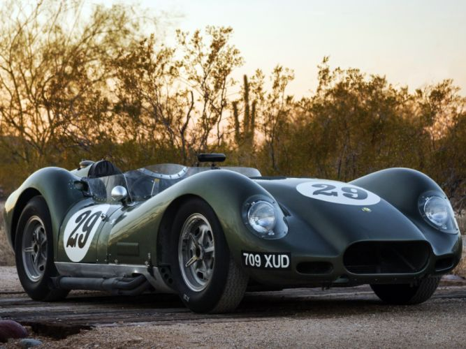 1957 Lister Knobbly Sports Racing race retro wallpaper