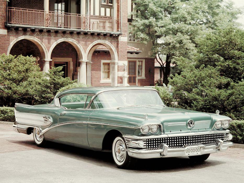 1958 Buick Super Riviera Coupe retro luxury wallpaper