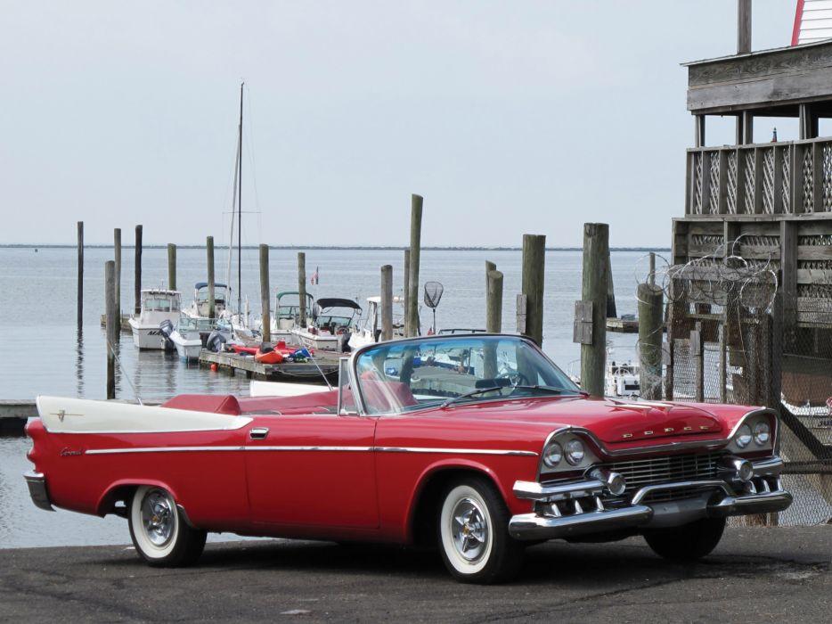 1958 Dodge Coronet retro    g wallpaper