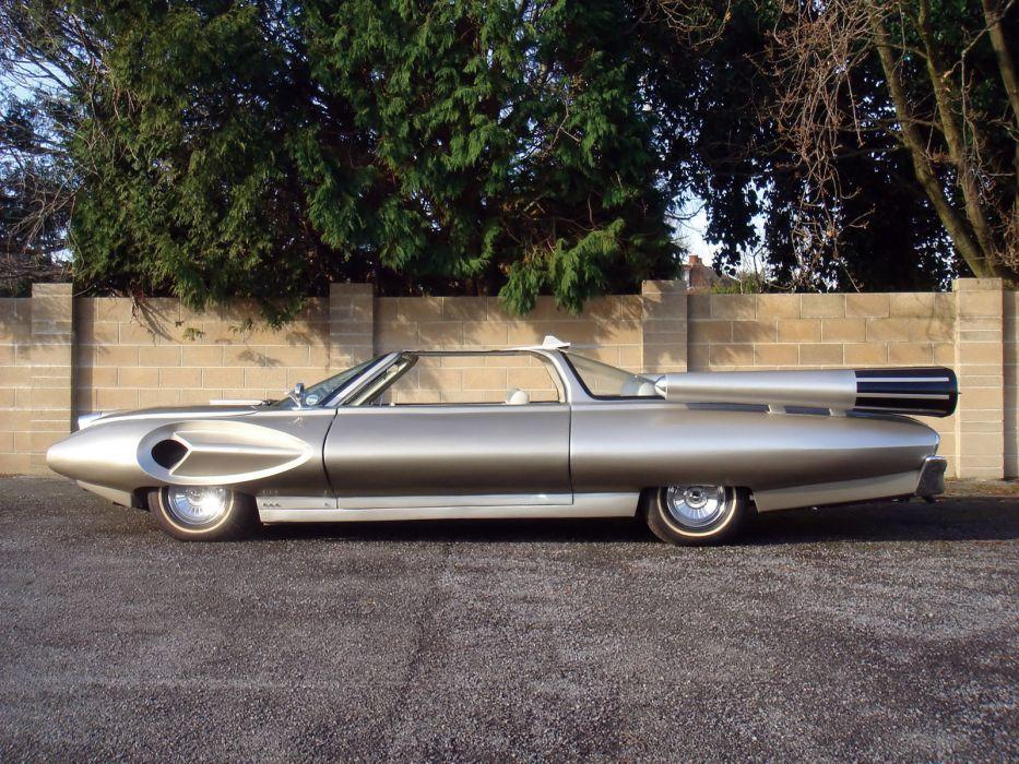 1958 Ford X-2000 Concept retro supercar supercars   f wallpaper