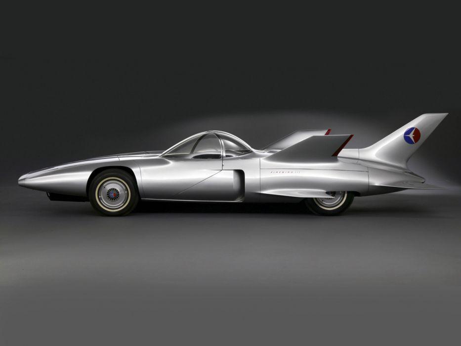 1958 GM Firebird III Concept retro g-m supercar supercars race racing general motors   g wallpaper