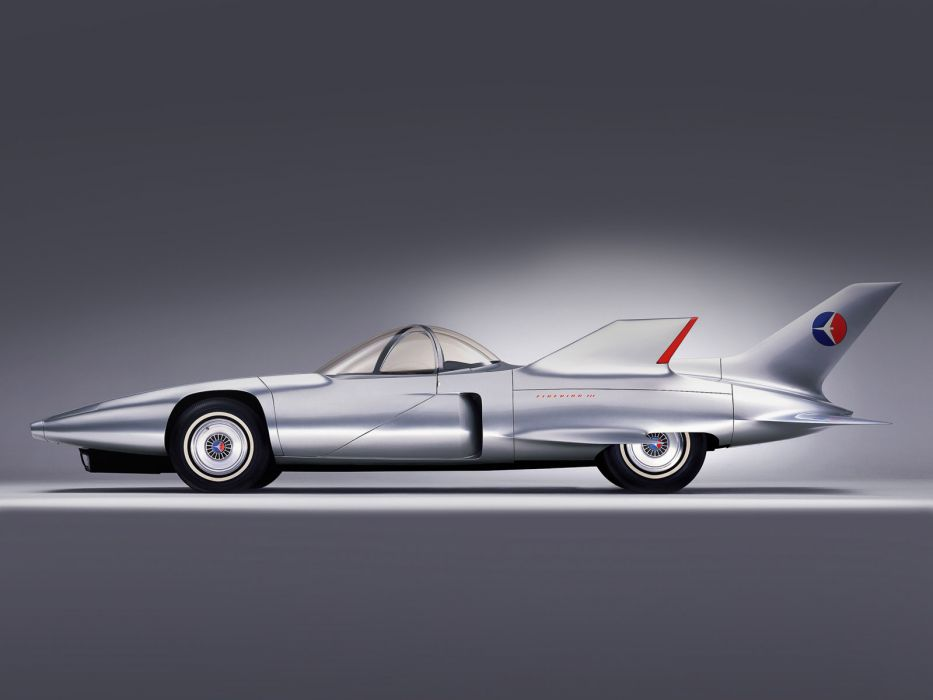 1958 GM Firebird III Concept retro g-m supercar supercars race racing general motors wallpaper