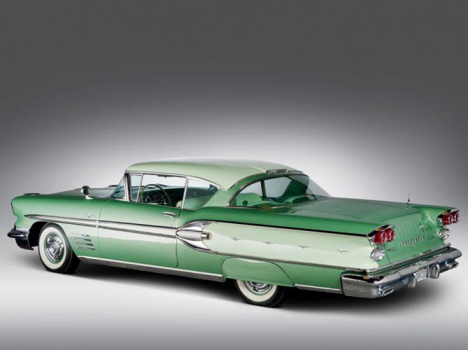 1958 Pontiac Bonneville Custom Sport Coupe retro fd wallpaper