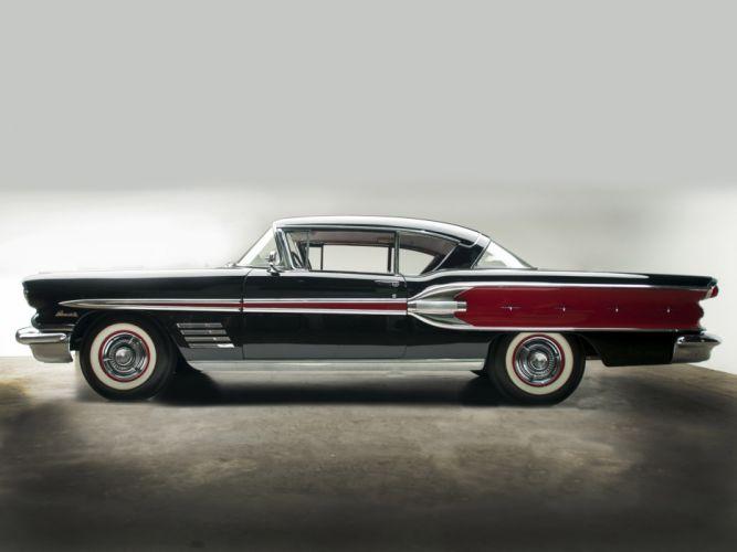 1958 Pontiac Bonneville Custom Sport Coupe retro q wallpaper