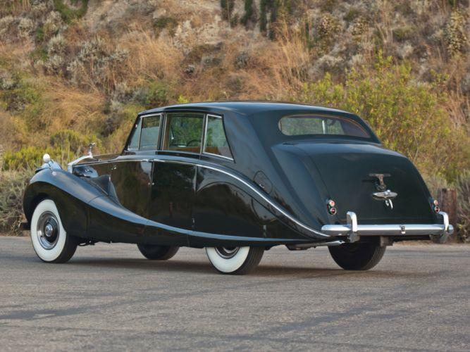 1958 Rolls Royce Silver Wraith Hooper Limousine retro luxury f wallpaper