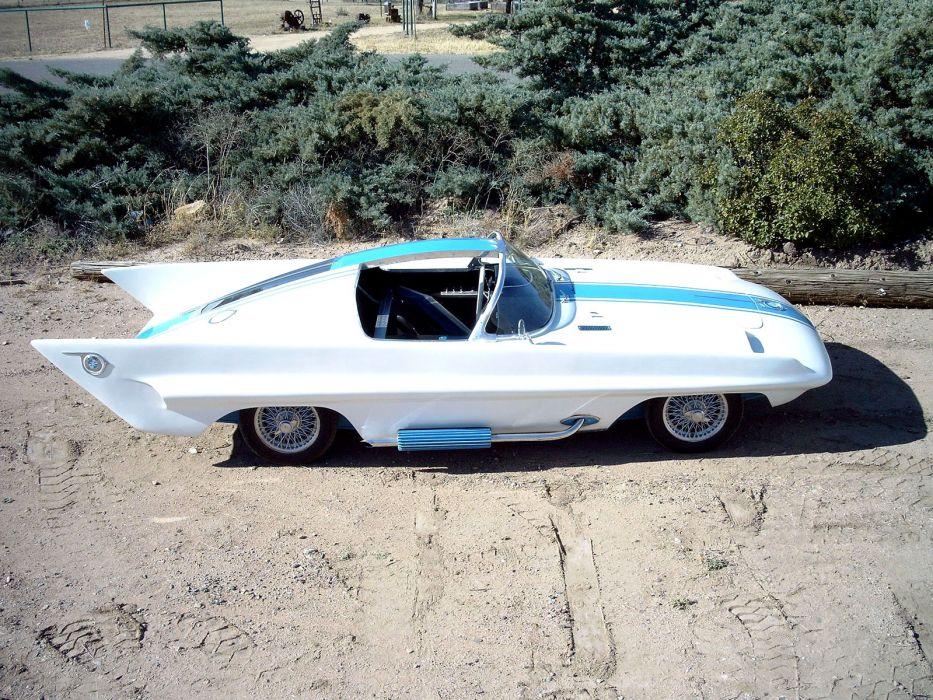 1958 Simca Special Concept retro supercar supercars   s wallpaper