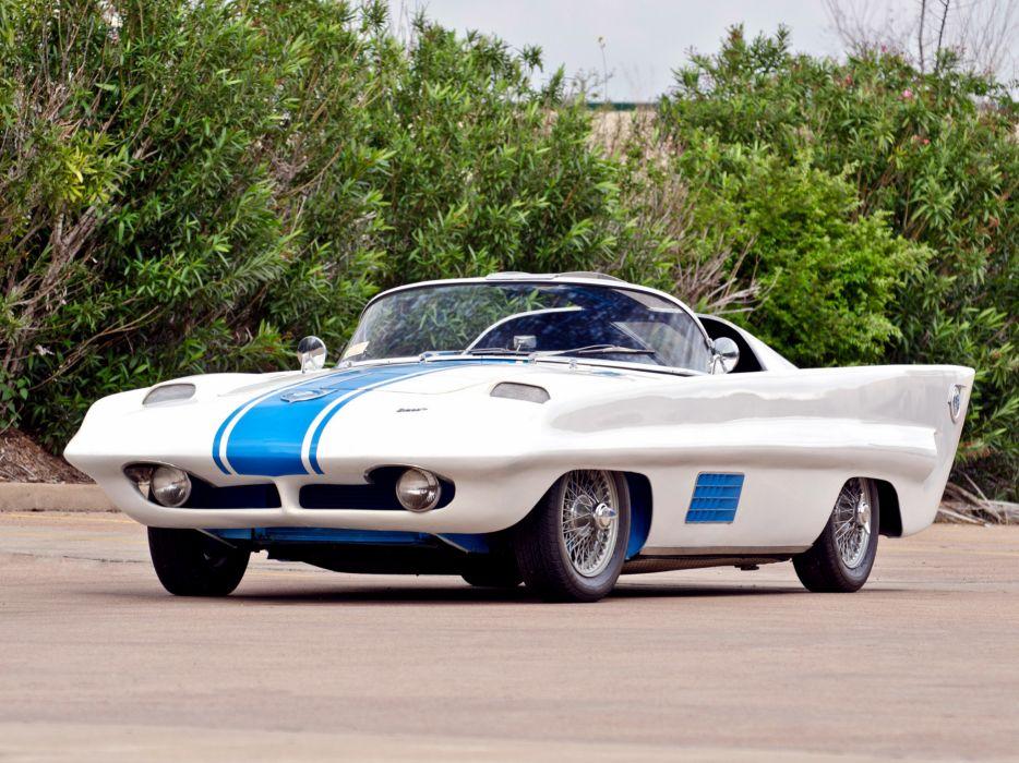 1958 Simca Special Concept retro supercar supercars wallpaper