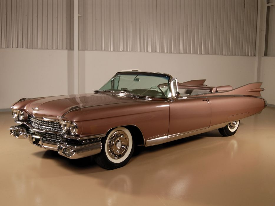 1959 Cadillac Eldorado Biarritz retro luxury     g wallpaper