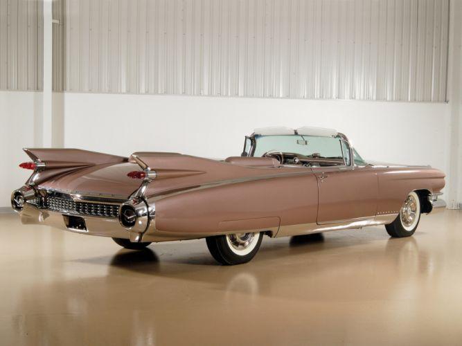 1959 Cadillac Eldorado Biarritz retro luxury g wallpaper