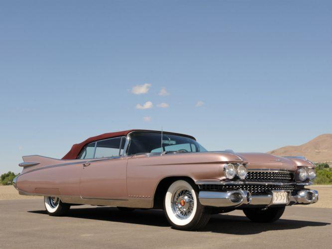 1959 Cadillac Eldorado Biarritz retro luxury wallpaper