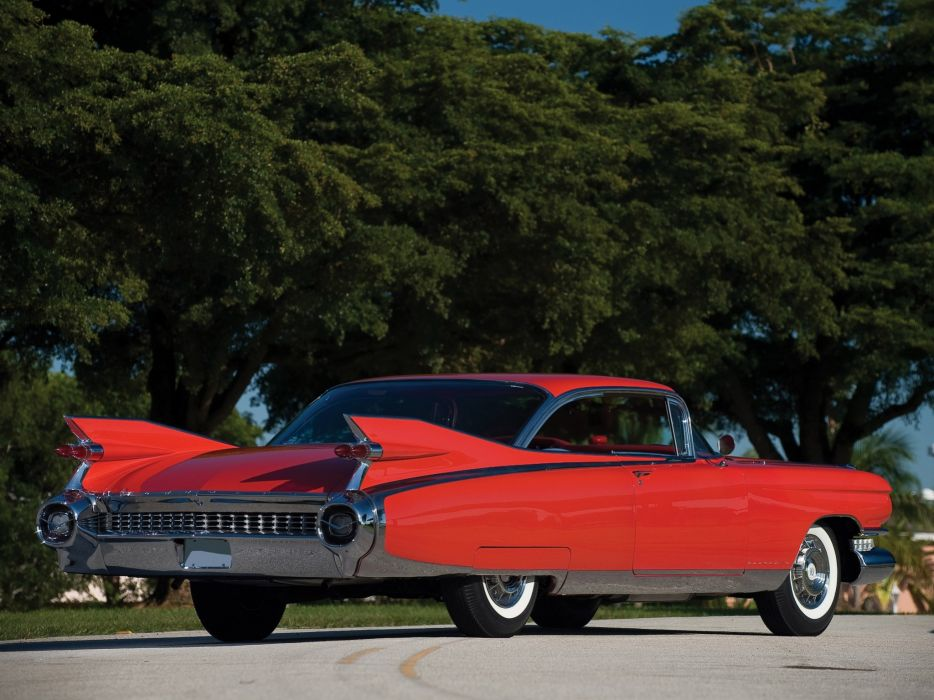 1959 Cadillac Eldorado Seville retro luxury   g wallpaper