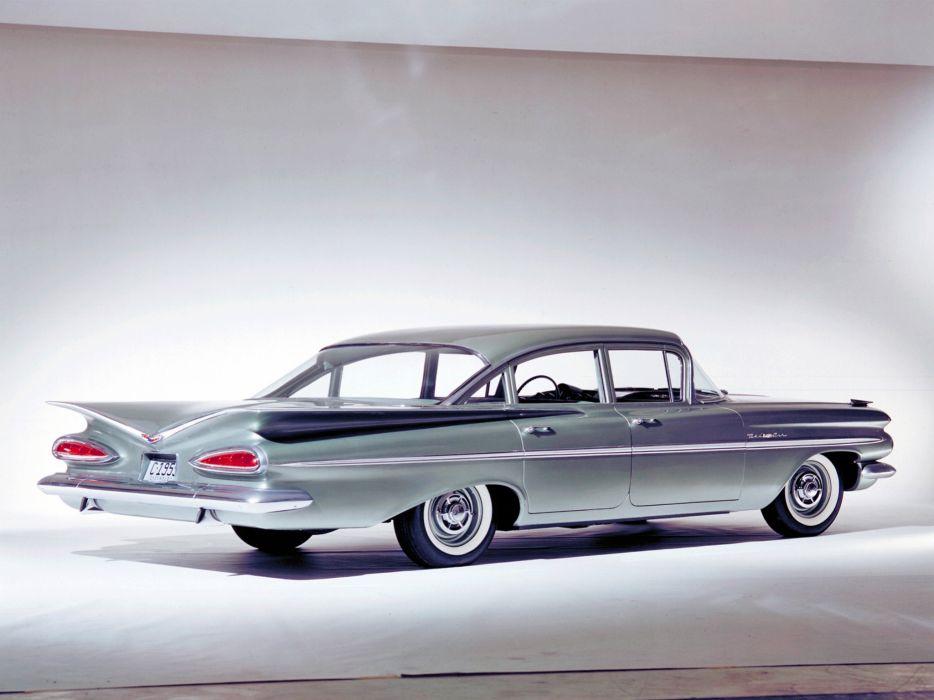 1959 Chevrolet Bel Air 4-door Sedan retro   gf wallpaper