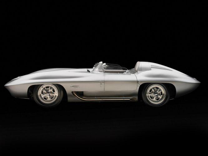 1959 Chevrolet Corvette Stingray Racer Concept retro muscle supercar supercars race racing f wallpaper