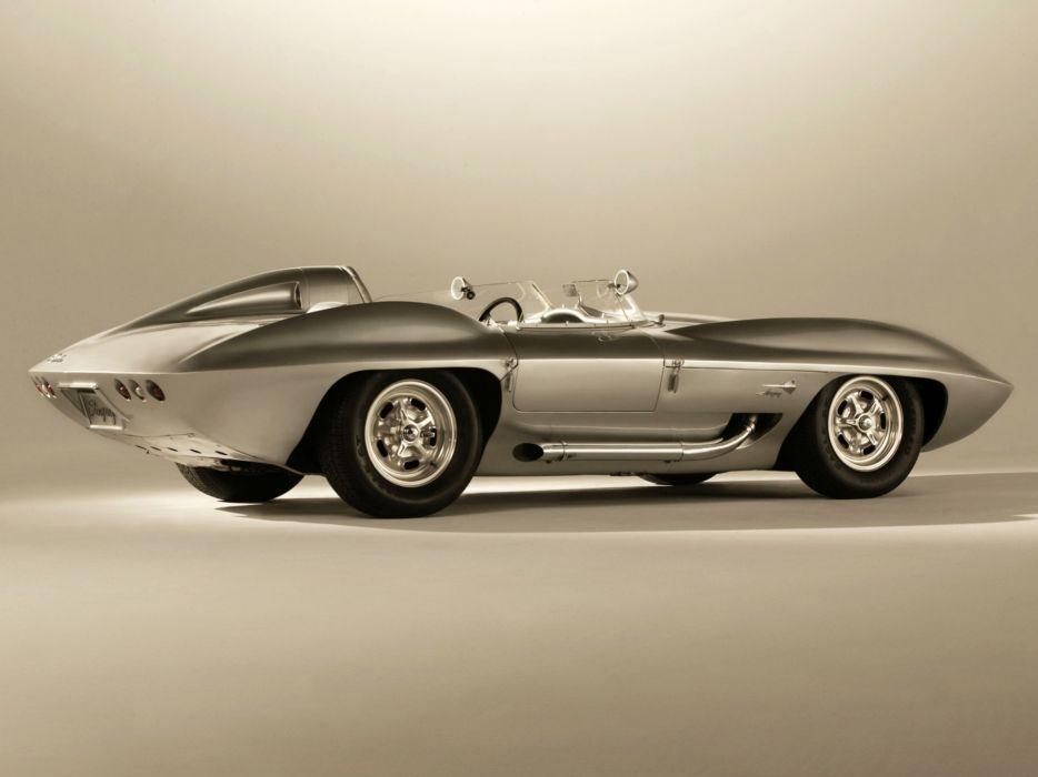 1959 Chevrolet Corvette Stingray Racer Concept retro muscle supercar supercars wallpaper