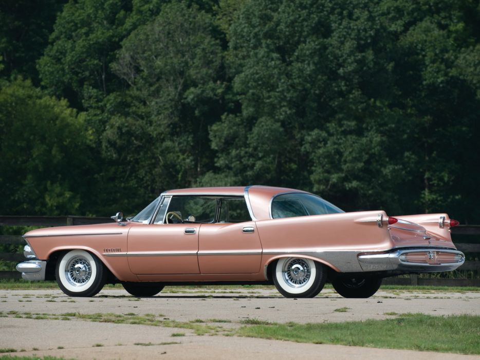 1959 Chrysler Imperial Crown Southampton retro luxury   f wallpaper