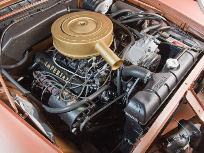 1959 Chrysler Imperial Crown Southampton retro luxury engine engines wallpaper