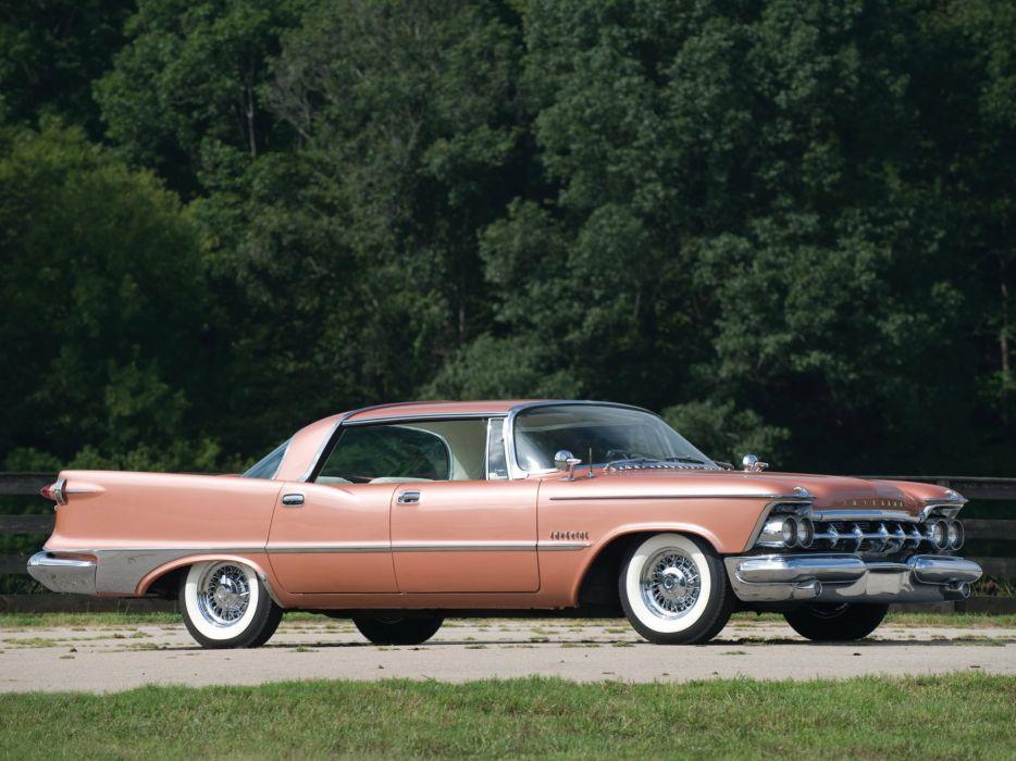 1959 Chrysler Imperial Crown Southampton retro luxury wallpaper
