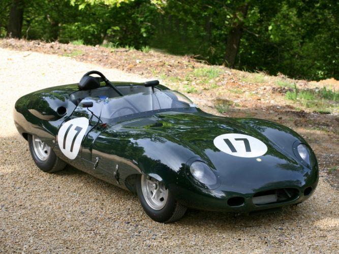 1959 Lister Jaguar Costin Roadster retro race racing supercar supercars g wallpaper