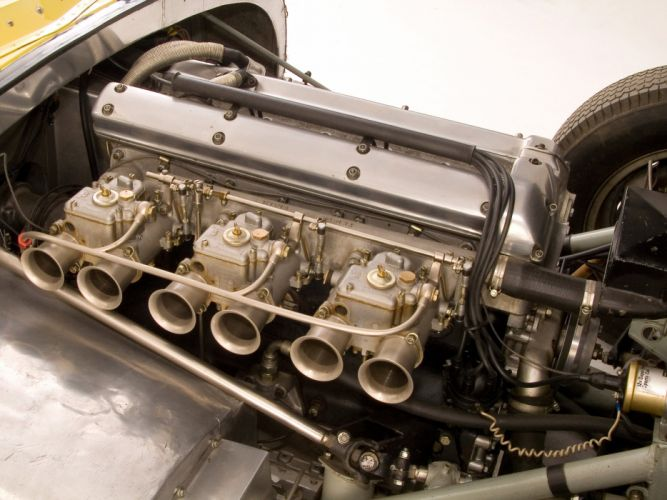 1959 Lister Jaguar Costin Roadster retro race racing supercar supercars engine engines wallpaper