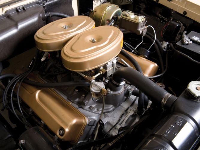 1959 Plymouth Fury retro engine engines wallpaper