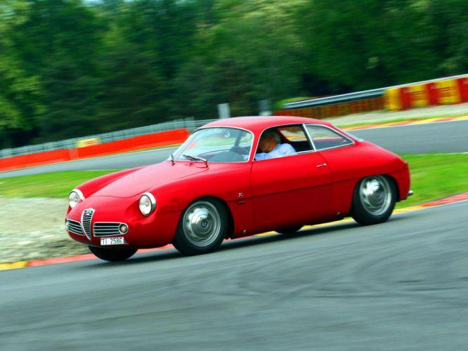 1960 Alfa Romeo Giulietta SZ Zagato classic f wallpaper