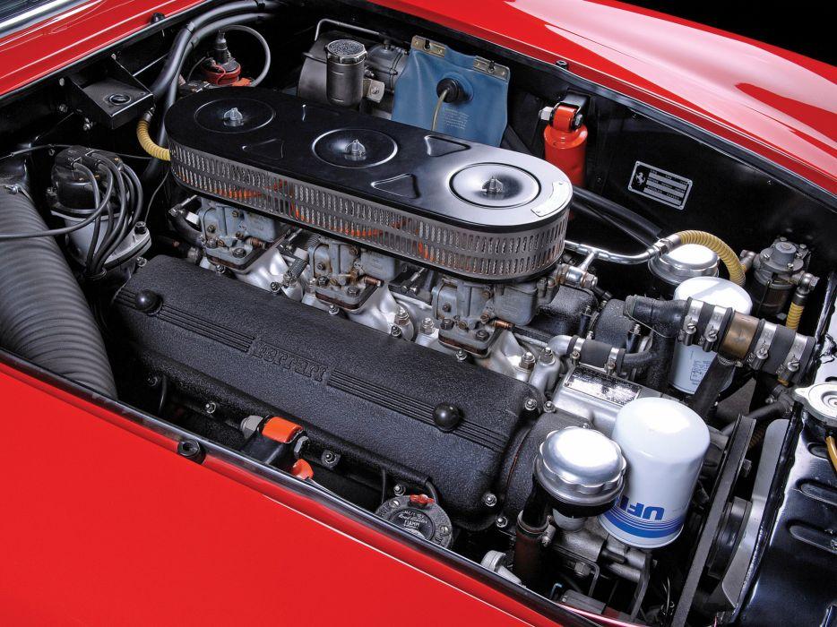 1962 Ferrari 250 GT Lusso Berlinetta Pininfarina g-t classic supercar supercars engine engines wallpaper