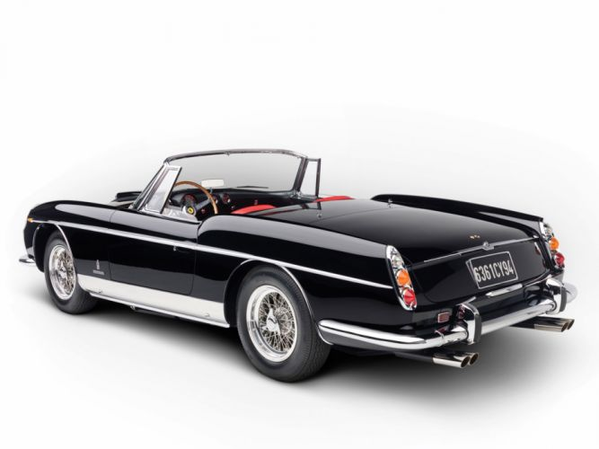1962 Ferrari 400 Superamerica Cabriolet supercar supercars classic g wallpaper