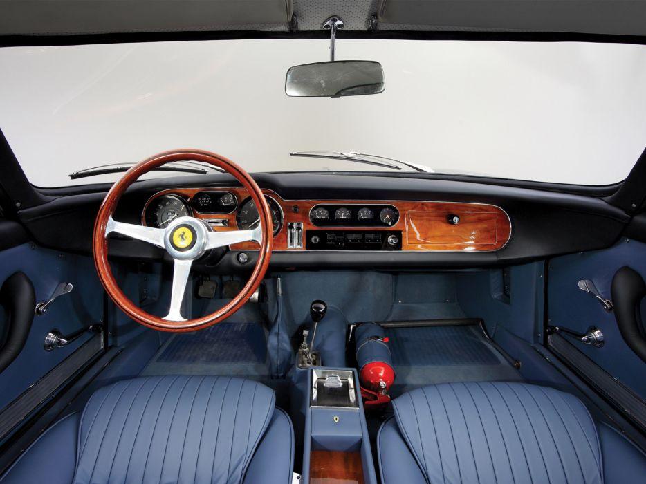 1965 Ferrari 275 GTB Alloy 6-Carb Berlinetta classic supercar supercars interior  v wallpaper