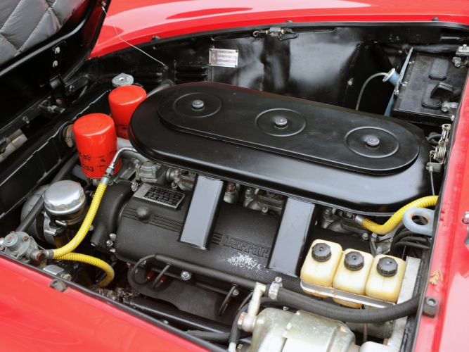 1966 Ferrari 330 GTC classic supercar supercars engine engines wallpaper