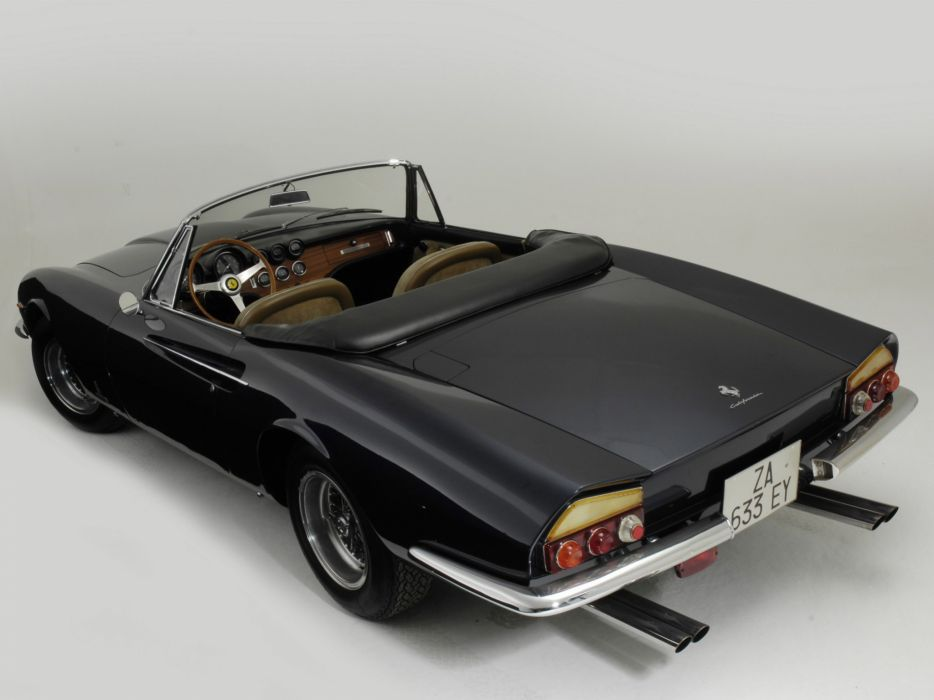 1966 Ferrari 365 California Spyder classic supercar supercars interior      g wallpaper