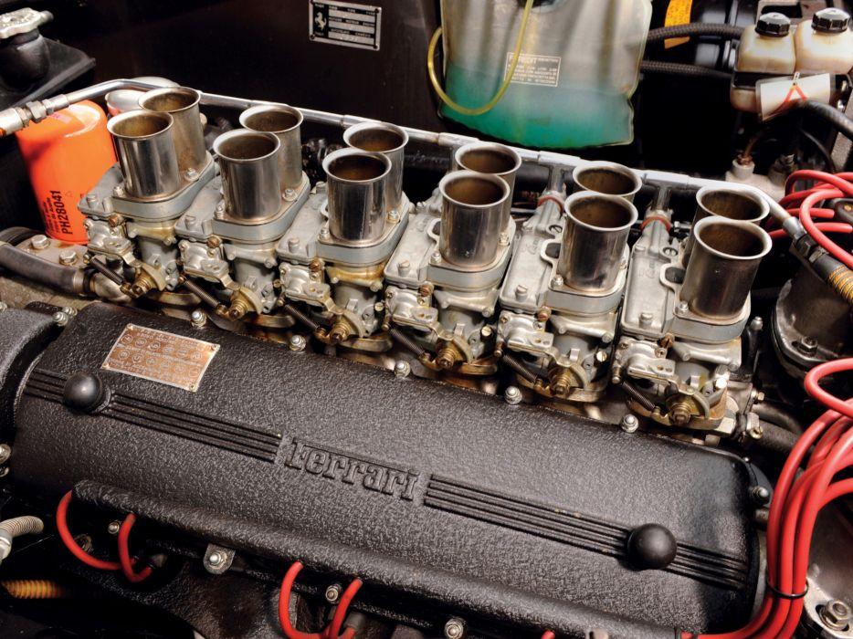 1967 Ferrari 275 GTB-4 NART Spider classic supercar supercars engine engines wallpaper