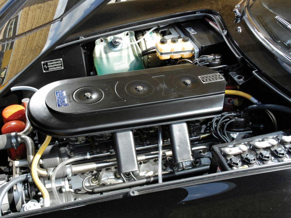 1967 Ferrari 275 GTB-4 UK classic u-k supercar supercars engine engines wallpaper