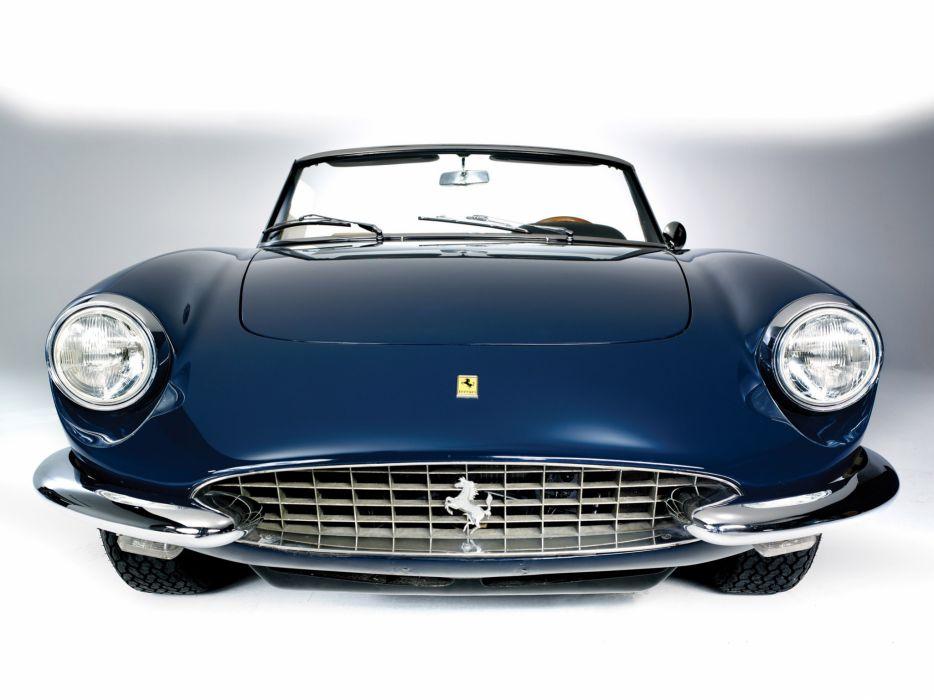 1967 Ferrari 330 GTS classic supercar supercars f wallpaper