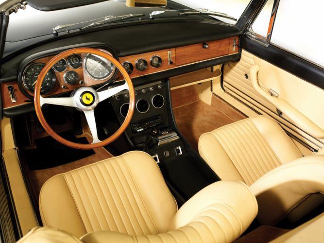 1967 Ferrari 330 GTS classic supercar supercars interior h wallpaper