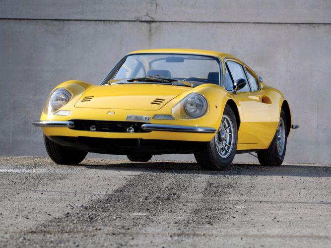 1968 Ferrari Dino 206 GT classic g-t supercar supercars g wallpaper