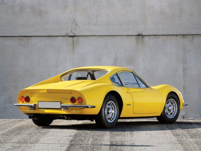 1968 Ferrari Dino 206 GT classic g-t supercar supercars gf wallpaper
