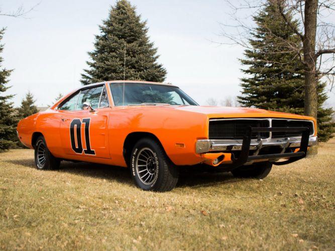1969 Dodge Charger General Lee muscle hot rod rods stunt mopar classic wallpaper