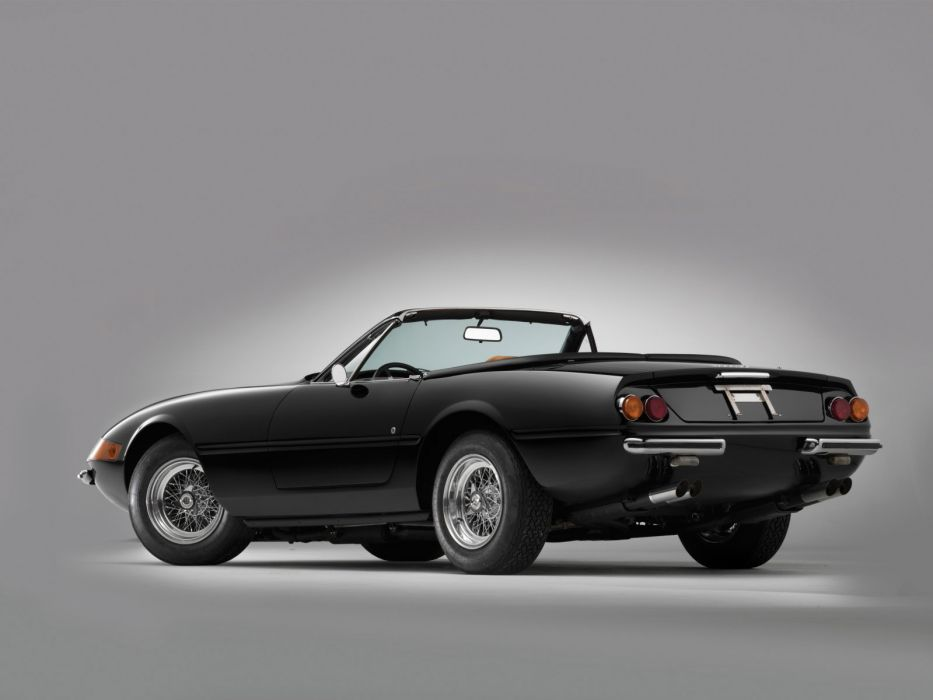 1970 Ferrari 365 GTS4 Daytona Spider classic supercar supercars   f wallpaper