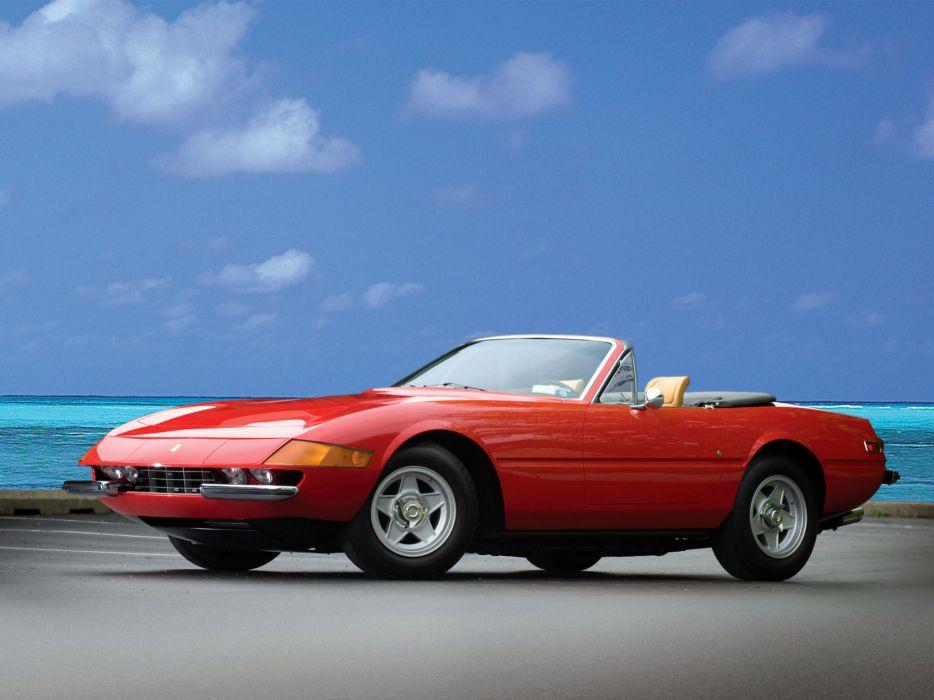1970 Ferrari 365 GTS4 Daytona Spider classic supercar supercars wallpaper